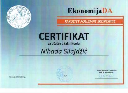 Certifikat Vahida
