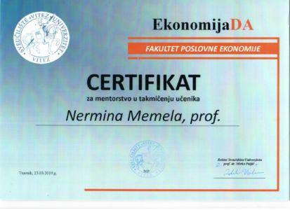 Certifikat Prof